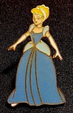 Rare 2000 Disney Wdw Character Core Series Cinderella In Blue Ball Gown Pin