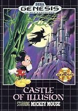 Castle of Illusion Starring Mickey Mouse (Sega Genesis, 1990) -Complete
