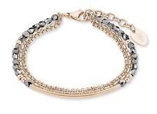 s.Oliver 2022740 Damen Edelstahl Armband rose mit Steinen neu