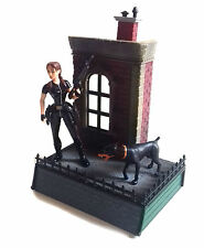 "Early 90's LARA CROFT TOMB RAIDER 5"" tall toy video Game figure + Diorama base"