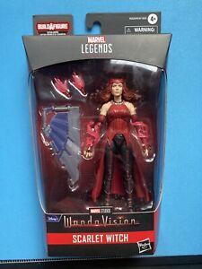 Dmg Marvel Legends Disney + Wave Scarlet Witch New 2021 Mcu in-hand WandaVision