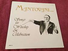 Mantovani & His Orchestra Songs of Worship & Celebration 1983 Image VII VINYL LP