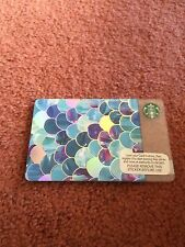 Starbucks Card Mother of Pearl Scales NI Northern Ireland Unused Rare NO Credit