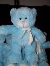 BUILD A BEAR 2011  LT BLUE SNOWFLAKE BEAR GRAND VICTORIA CASINO Lot of 2pcs New