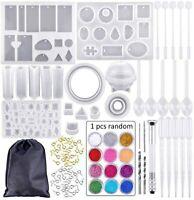 83* Fundición Moldes y herramientas de Silicona Joyería molde de resina +Bolsa