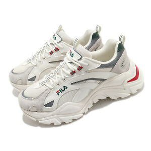 Fila Interation Light BTS Beige White Grey Red Green Men Unisex Casual Shoes