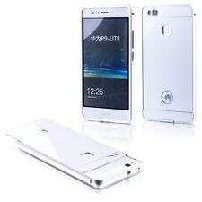 Pare-chocs En Aluminium 2 éléments avec Couverture En Argent pour Huawei P9 Lite