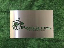 Knights Armament Sign