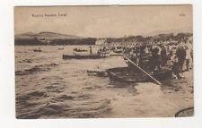 Boating Stations Largs Ayrshire Vintage Postcard J&R Simpson 656b