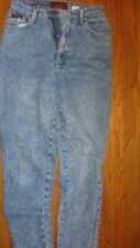 Sasson Jeans Acid Wash High Waist Tapered Leg Vintage size 8