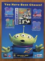 Disney Pixar Toy Story 2 PS1 GBC 1999 Vintage Print Ad/Poster Art Official Promo