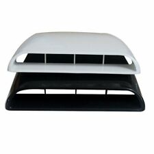 Universal Black Car SUV Decorative Air Flow Intake Scoop Bonnet Vent Cover Hood