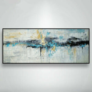 """AA010 Large 48"""" Modern House Decor Abstract oil painting Hand-painted on canvas"""