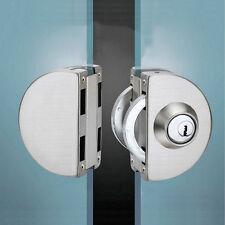 Rostfreier Stahl 10-12mm Glastürschloss Doppelschwung Scharnierte rahmenlose Tür