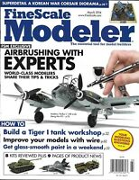 Fine Scale Modeler Magazine Expert Airbrushing Korean War Corsair Diorama Paint