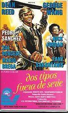 DOS TIPOS FUERA DE SERIE aka SOTTO A CHI TOCCA! (VHS) RARE BIG BOX CLAMSHELL