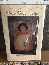 PATTERN Primitive Raggedy Prayer Angel Doll Pattern Folk Art
