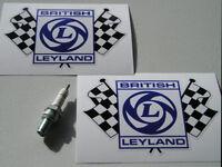 BRITISH LEYLAND FLAGS Clear 50mm stickers Mini Metro MG