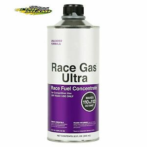Race Gas Ultra 32 oz Octane Booster 112 MAX 200032 Fuel Add. (Authorized Dealer)