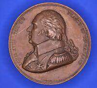 France medal LOUIS XVIII Médaille, Confirmation de la charte de 1814 [18166]