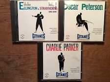 GITANES JAZZ [3 CD Alben] Oscar Peterson + Charlie Parker + Duke Ellington VERVE