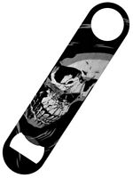 Cross Skull Bar Blade Bottle Opener 18x4cm