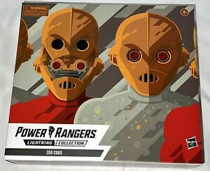 Hasbro MMPR Power Rangers Lightning Collection Zeo Cogs 2-Pack Sealed Exclusive