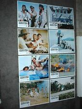 MURPHY'S WAR orig lobby card set PETER O'TOOLE/HORST JANSON 11x14 movie posters