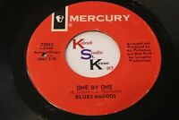 BLUES MAGOOS VG VG+ 45 One By One / Dante's Inferno MERCURY 726926 Rock Garage