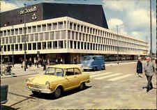 ROTTERDAM ~1960 Concert-Gebouw DE DOELEN Konzert-Gebäude Auto Holland color AK