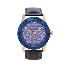 Ashton Carter Multi Function Gold / Blue Watch - AC-1002-C-2 Year MANUF WRNTY