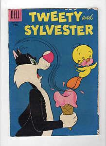 Tweety and Sylvester #21 (Jun-Aug 1958, Dell) - Good