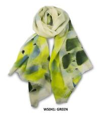 Ozwear UGG WS041 The Hand Painted Merino Wool Scarf 1830 X 640 mm New Gift