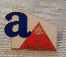 2002 Delta Salt Lake City Olympic Pin Airlines Letter A Set