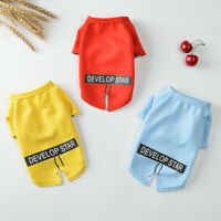 Fashion Small Pet Dog Costume Clothes Vest Puppy Cat T-Shirt Summer Apparel Coat