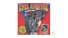Evel Knievel 3D Stunt Video Game CD Brand New wrapped in plastic motorcycle jump