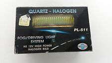 UNIVERSAL 6-1/4'' X 1-1/2''QUARTS HALOGEN FOG DRIVING LIGHT SYSTEM