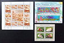 FRANCE WALLIS ET FUTUNA 2004/5 M/Sheets (3) MS863/4/5 U/M NB1042