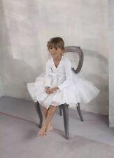 Jottum Festival Silva Galajurk 7-8 128 Tutu Dress Fully Off-white Wedding