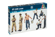 Italeri 5618 1/35 Scale Military Model Kit WWII U.S Navy PT-109 Crew Figures(7)