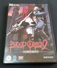 PC Legacy of Kain, BLOOD OMEN 2 Vampire Horror WIN 98/XP Eidos 2002 15+YRS ID5