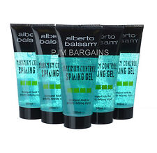 ALBERTO BALSAM MAXIMUM CONTROL SPIKING HAIR GEL 200ML 6 PACK