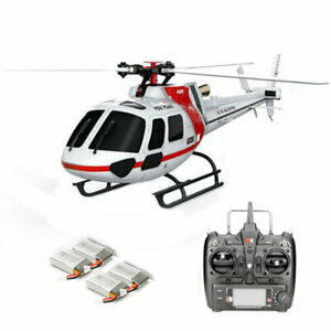 RC Helicopter TRF XK K123 Brushless 3D6G System AS350 Scale RC Helicopter - US