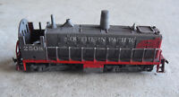 HO Scale Well Worn and Weathered AHM Southern Pacific Dummy Switcher Locomotive