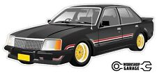 VC HDT BROCK Tuxedo Black Holden Commodore with Simmons