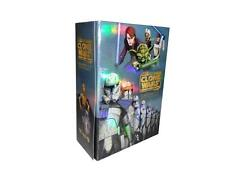Star Wars: The Clone Wars - Complete Series Seasons 1-5 (DVD, 2013, 19-Disc Set)