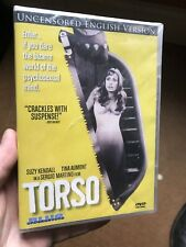 Torso (DVD, 2011) Brand New Still Sealed Cult Horror Blue Underground