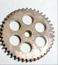"Brass SPUR Gear 40 Tooth Standard threaded 5:40 for 1/8"" axle CLASSIC Mfg NOS"