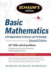 Libros de formación de matemáticas y ciencia para universitarios y adultos