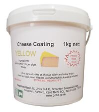 Cheese coating - yellow, 1kg tub.